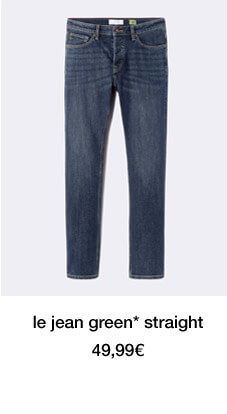 le jean green* straight - 49,99€