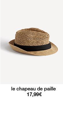le chapeau de paille 17,99€